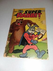 Super Rabbit #7 (IW Pub, 1963) Timely Reprint captain america Comic Book cameo