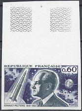 ESNAULT PELTERIE ESPACE N°1526 TIMBRE NON DENTELÉ IMPERF 1967 NEUF ** LUXE MNH