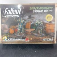Fallout Wasteland Warfare Miniatures Super Mutants Overlord And Fist New