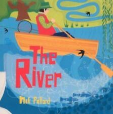 The River~Nik Pollard~Hardcover Book Dust Jacket~Kids at the river