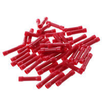 50x crimp terminals insulated splices cable connector Terminals red industria FP