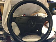 Mercedes Benz R129 W124 W126 W140 W201 W202 W463 Leather Steering Wheel SRS