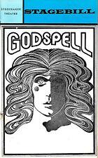 "Stephen Schwartz ""GODSPELL"" Joe Mantegna 1972 Chicago Studebaker Theatre Program"