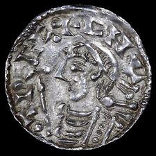 Cnut (Canute), 1016-35. Hammered Silver Penny. Lincoln Mint, Moneyer SPERTEBRAD.