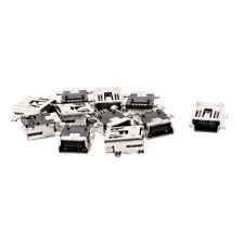 Mini USB Type B Female 5 Pin PCB Board Mount Jack Connector 10 Pcs WS A7L1