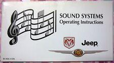 Jeep Grand Cherokee 2.7 CRD Wj Wg Propietario Audio Manual 1999-2005
