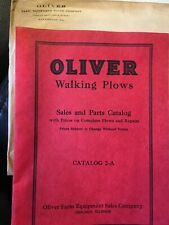 1931 OLIVER WALKING PLOWS CATALOG FARM EQUIPMENT TRACTOR