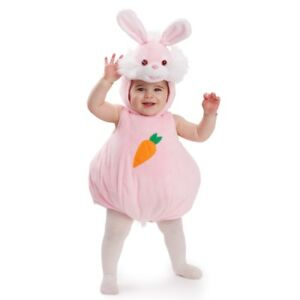 Dress Up America Pink Bunny Rabbit Costume Halloween Infant Animal Baby Outfit