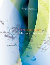 Anthology for Musical Analysis by Charles Burkhart, William Rothstein
