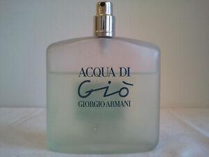 Giorgio Armani Acqua Di Gio100ml EDT Spray Used Womens Perfume Fragrance Discont
