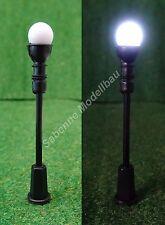Spur H0 LED Parklaterne Laterne Straßenlaterne Altstadtlaterne 5 Stück NEU C2528