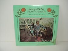 Sonny and Cher All I ever Need Is You Lp Album Vinyl 33 rpm