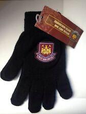 Official West Ham United FC Magic Gloves Kids Boys Football Winter Woolie