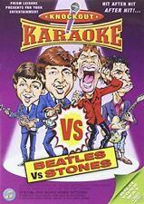 Knockout Karaoke - Beatles Vs Stones [DVD], , Like New, DVD