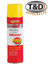 Spray Contact Adhesive stick 2 Glue Heavy Duty DIY Crafting Upholstery 500ml