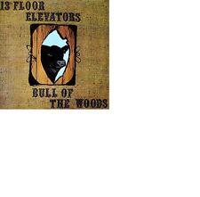 13TH FLOOR ELEVATORS: Bull of the woods (1969); 14886; DIGIPAK SPALAX CD Neu