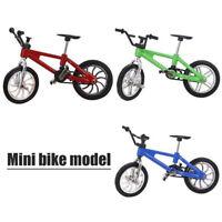 Mini BMX Bicycle Toys Finger Cycling Mountain Bike Model Tech Deck Gift