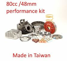 Performance 80cc kit +clutch set for SYM DD50 Jolie 50 Honda DIO 50cc AF18E AF28