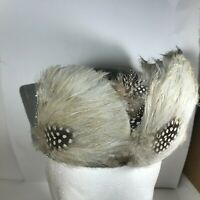 Vintage WPL 100% Wool Feathered Womans Hat