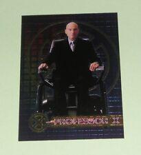 X-MEN THE MOVIE TOPPS 2000 CHROMIUM PROMO CARD C1 PROFESSOR X