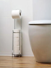 Chrome Square Solid Toilet Roll Holders