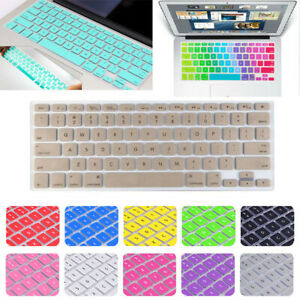 "US EU/UK Version Silicone Keyboard Cover Skin for Macbook Air Pro 11""12"" 13"" 15"""