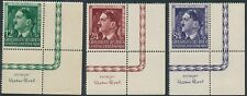 Stamp Germany Poland General Gov't Mi 117-9 Sc NB33-5 1944 WWII Hitler BR MNH