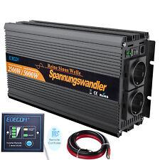 2500W 5000W 24V DC AC 220V Onda Sinusoidale Pura Inverter Potenza Telecomando