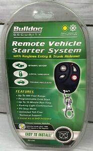 Bulldog Security Remote Vehicle Starter System Keyless Entry RS1100 - Sealed TV