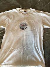 "Vintage ""Make mine a"" SHINER LIGHT M Texas Indie beer bar shirt FREE US SHIPPING"