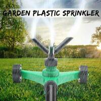 3 ARM 360° Rotating Spray Watering Lawn Sprinkler Garden Pipe Hose Irrigation