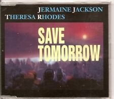 JERMAINE JACKSON THERESA RHODES Save Tomorrow CD EP