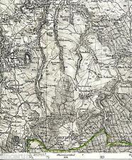 Jöhstadt Annaberg 1909 /1921 Karte/Ln. Mildenau Königswalde Steinbach Bärenstein