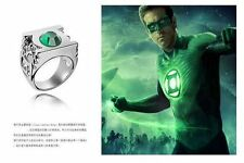 ANELLO IN METALLO LANTERNA VERDE GREEN LANTERN DC COMICS METAL RING COSPLAY #1
