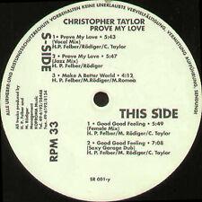CHRISTOPHER TAYLOR - éléments de preuve My Love - Supreme - SR001 - Ger