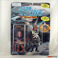 Star Trek TNG Worf Holodeck Series Klingon Attire Metallic Armor damaged package