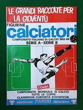 Album CALCIATORI 1965-1966 65-66 , Ristampa L' Unita' , Figurine Panini Serie A