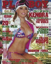 Kendra Wilkinson 8x10 Photo Girls Next Door Playboy December 2010 Magazine Cover