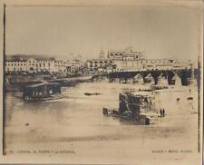 FOTO Postal. Córdoba. El Puente y la Catedral. Nº 247. Vista general.