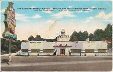 Rainbow Room Restaurant in Hot Springs Nat'l Park AR Postcard