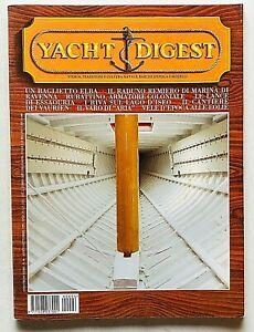 Yacht Digest Rivista 96 / 1999 Barche d'epoca Modellismo Design Baglietto Elba