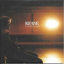 CD SINGLE PROMO--KEANE--EVERYBODY'S CHANGING--2004