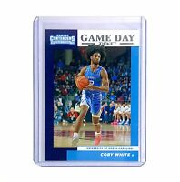 2019-20 Panini Contenders Draft Picks Game Day Ticket Basketball #8 COBY WHITE