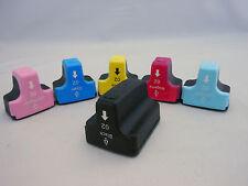 HP02 Inkjet Cartridge for HP Photosmart D7460 D7260 C8250 C8180 C7280 C6180 6PK
