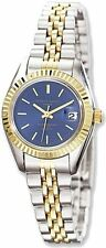Ladies Charles Hubert Two-tone Stainless Steel Blue Dial Watch