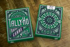 Emerald Tally Ho Playing Cards (Limited 700)