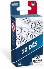 Ducale, le jeu français- Lot de 12 18mm dés-Jeu de Voyage, 130010723