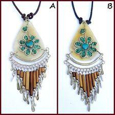 Modeschmuck-Anhänger mit Türkis-Perlen für Damen