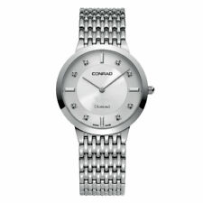 Men's Diamond Swiss Made Watch With Sapphire Glass 35MM Conrad
