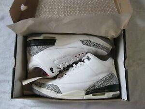 RARE Mens 2003 Nike Air Jordan 3  Retro Athletic, Basketball Shoes SZ 13 OG Box